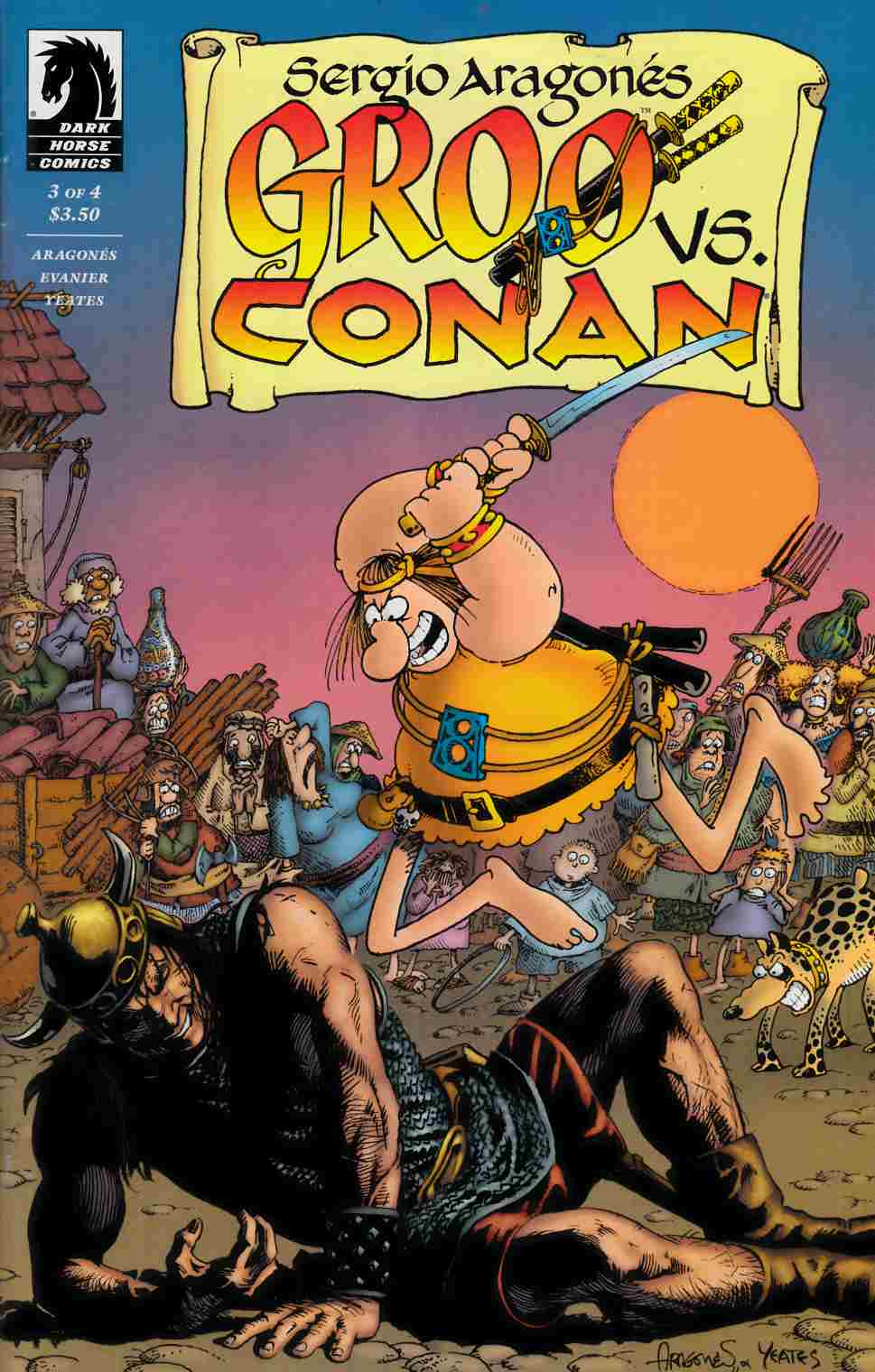 Groo vs Conan #3 [Comic] LARGE
