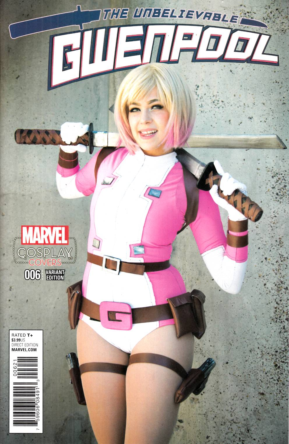 Gwenpool #6 Cosplay Variant Cover [Marvel Comic]