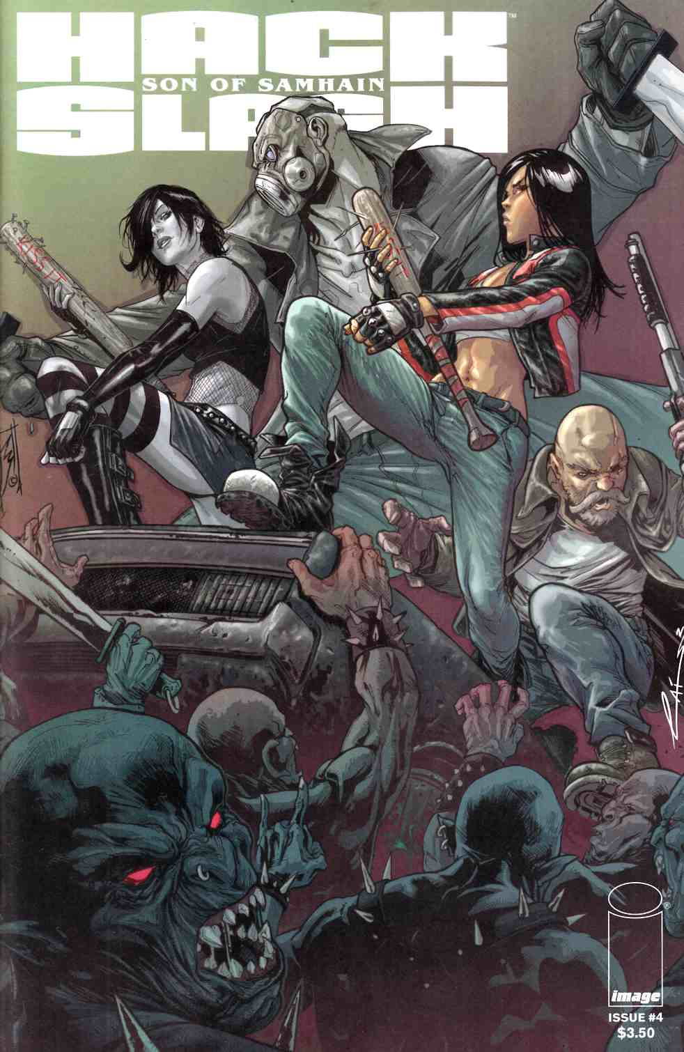 Hack Slash Son of Samhain #4 [Image Comic] THUMBNAIL