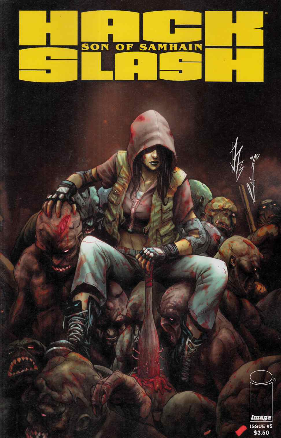 Hack Slash Son of Samhain #5 [Image Comic] THUMBNAIL