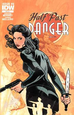 Half Past Danger #6 Subscription Cover [Comic] LARGE