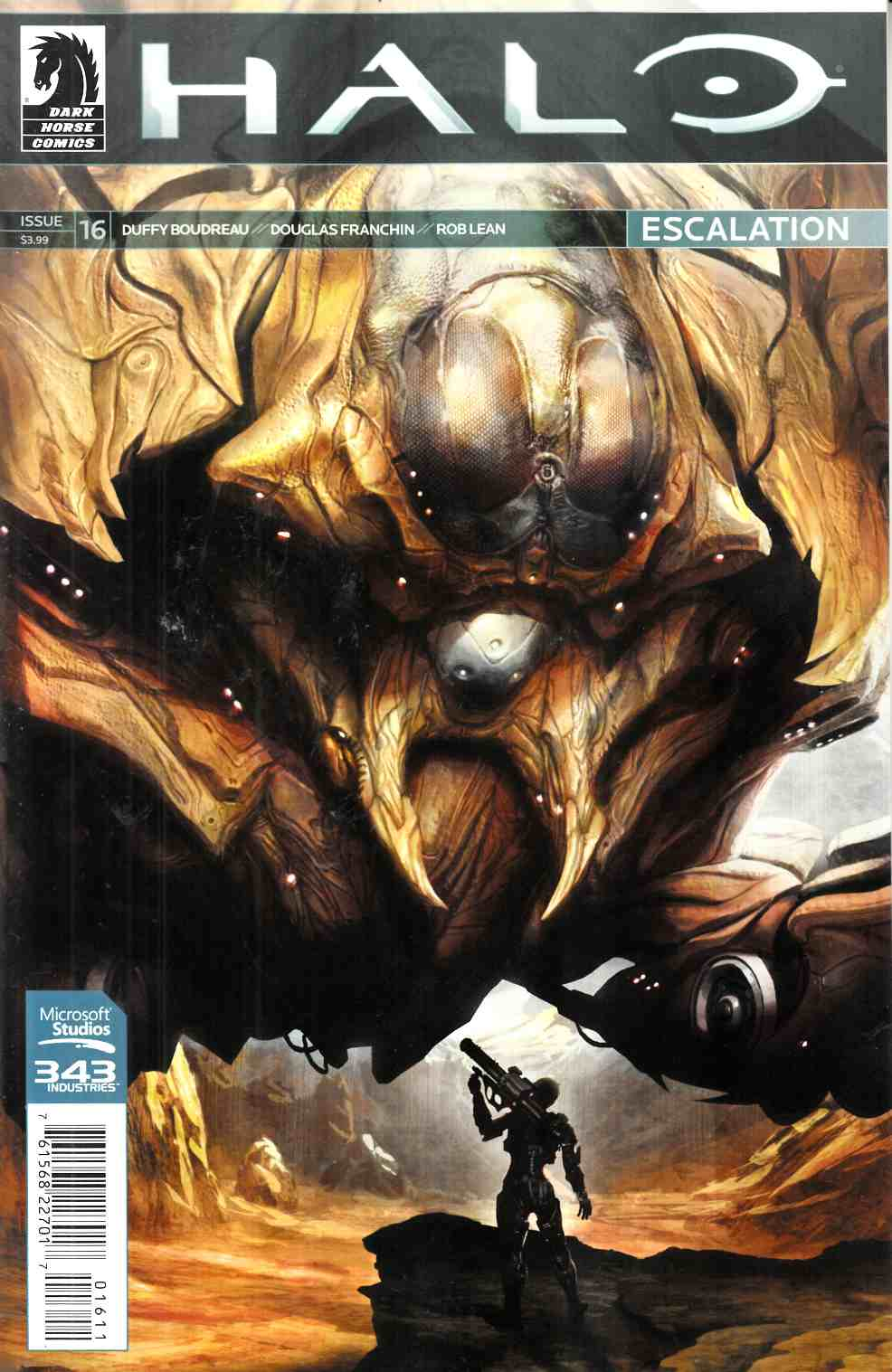 Halo Escalation #16 [Dark Horse Comic] THUMBNAIL