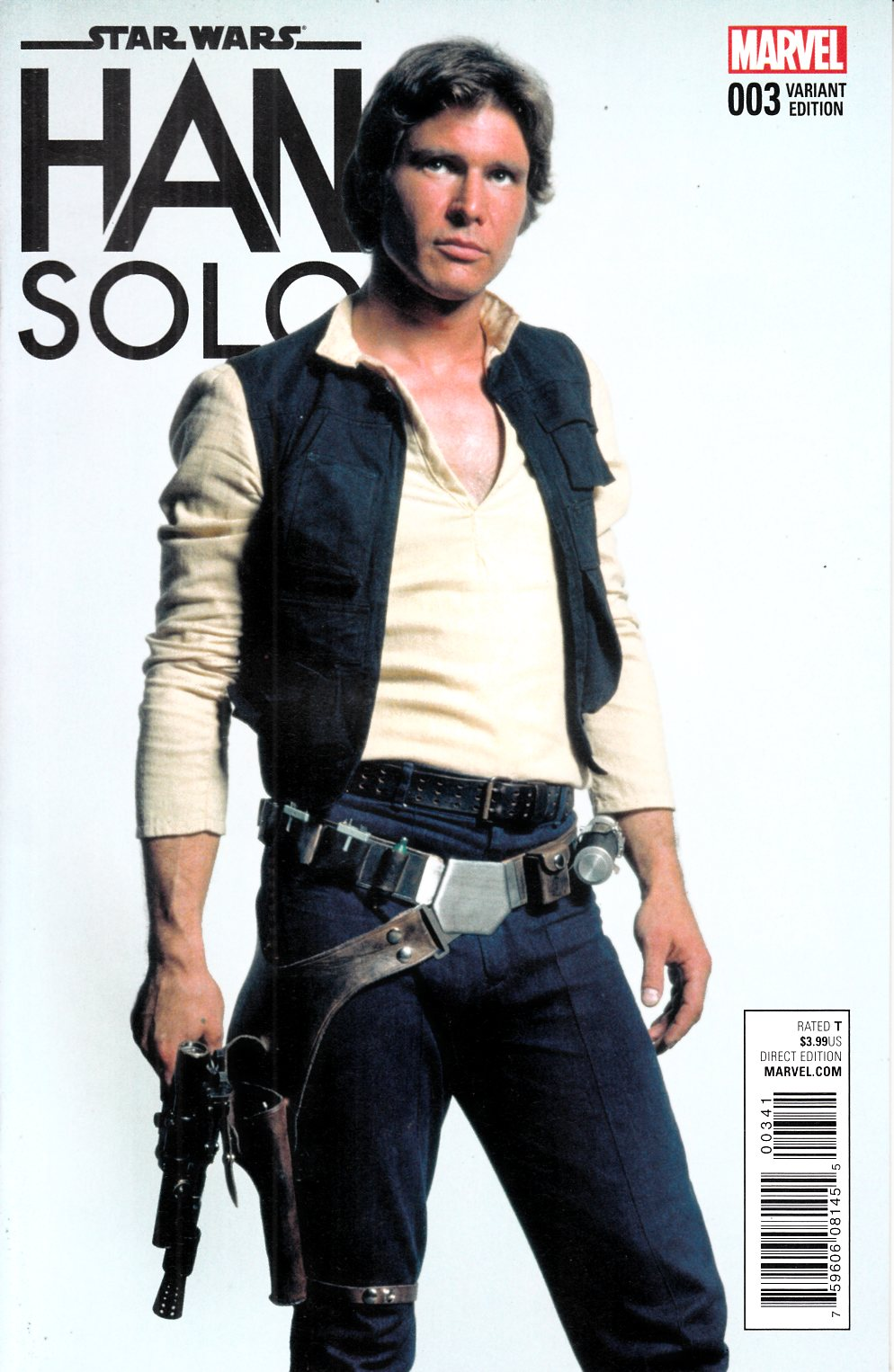 Star Wars Han Solo #3 Movie Variant Cover [Marvel Comic] LARGE