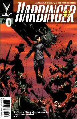 Harbinger (Ongoing) #0 Suayan Cover [Comic] LARGE