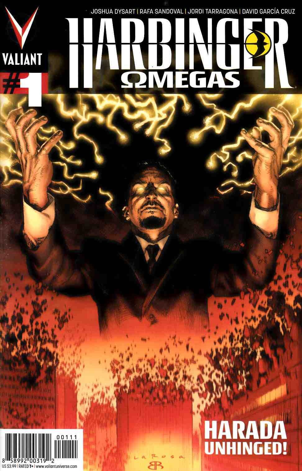 Harbinger Omegas #1 Larosa Cover [Valiant Comic] THUMBNAIL