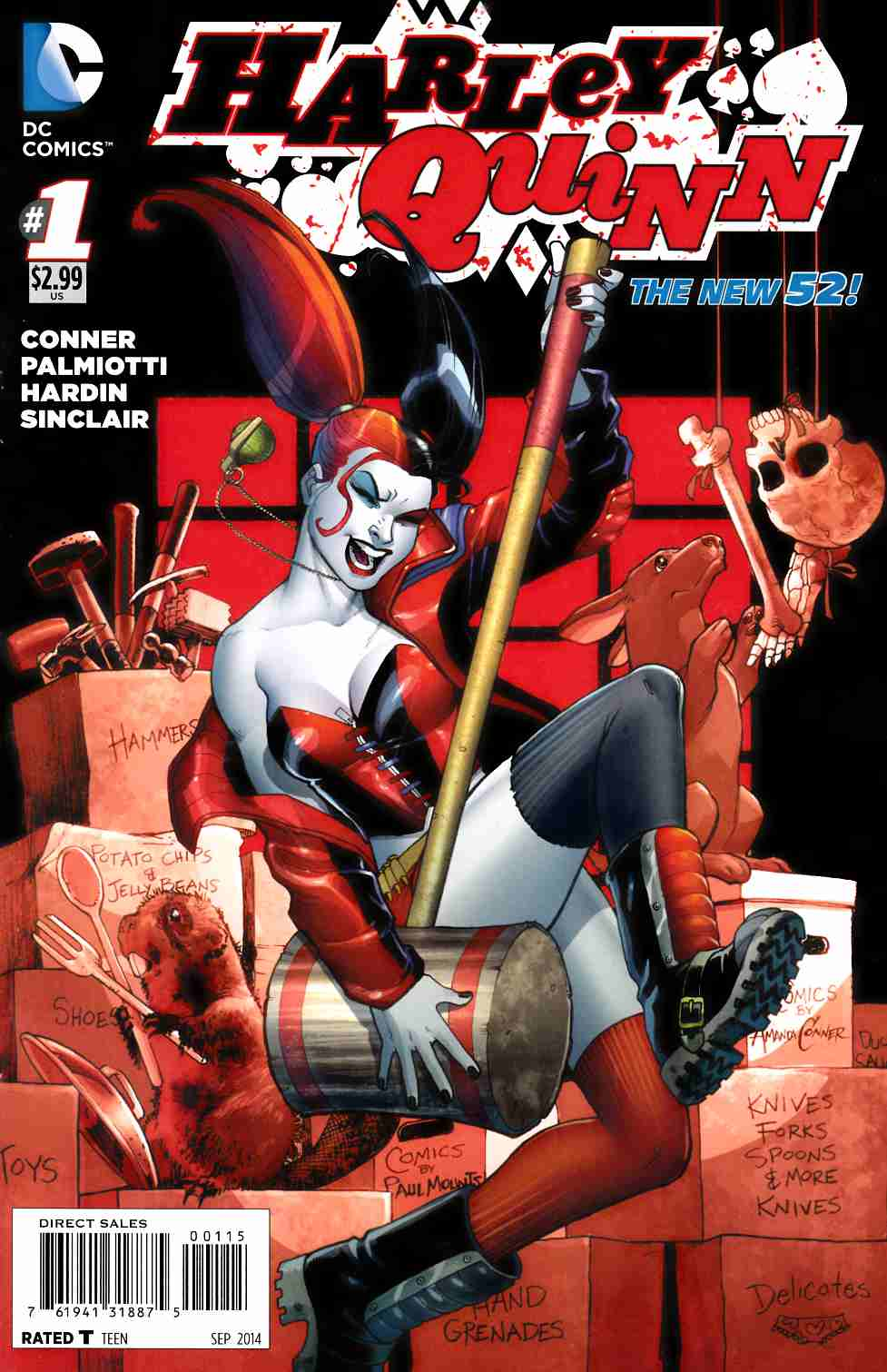 Harley Quinn #1 Fifth Printing [Comic] THUMBNAIL