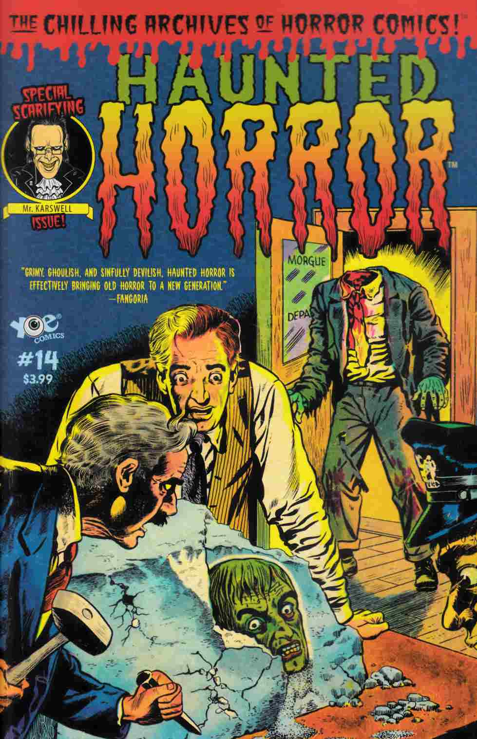 Haunted Horror #14 [IDW Comic] THUMBNAIL
