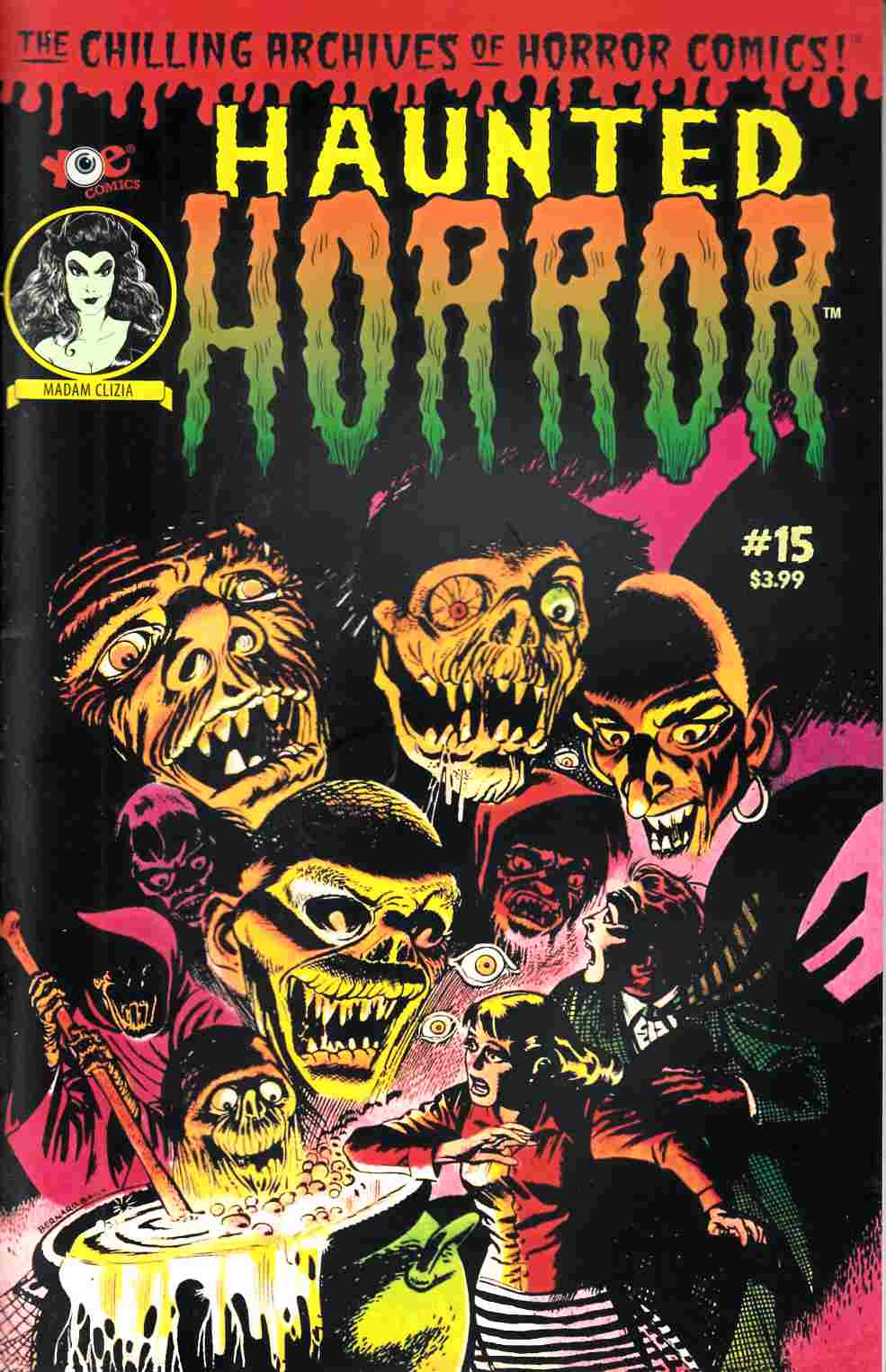 Haunted Horror #15 [IDW Comic] THUMBNAIL