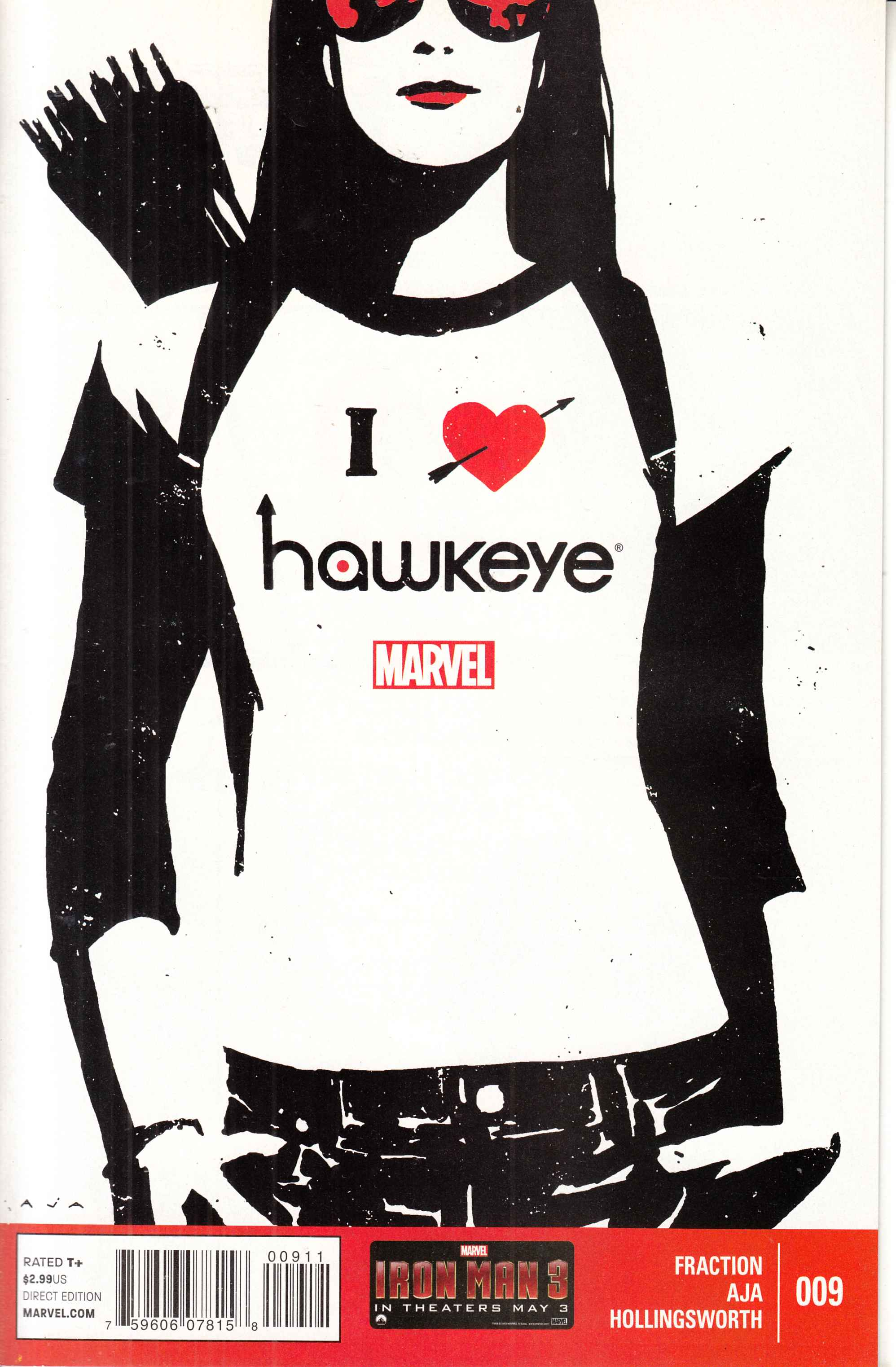 Hawkeye #9 Near Mint (9 4) [Marvel Comic]