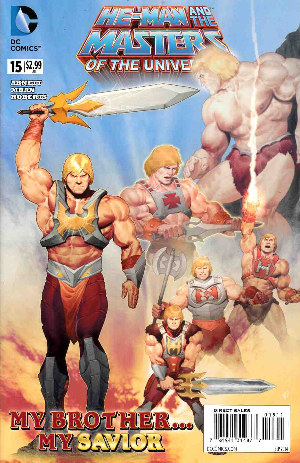 He Man and the Masters of the Universe #15 [DC Comic] THUMBNAIL