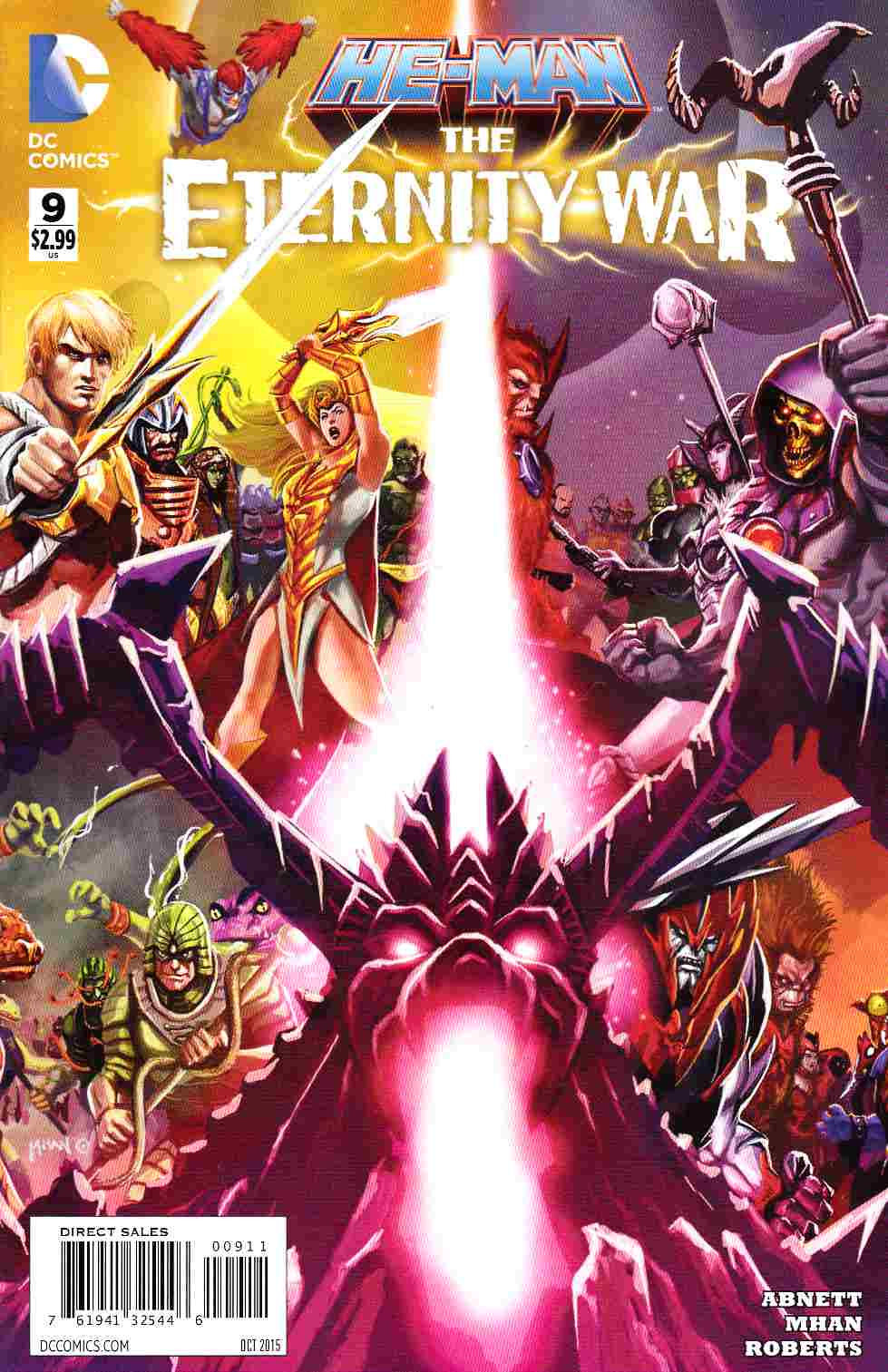 He Man The Eternity War #9 [DC Comic] THUMBNAIL