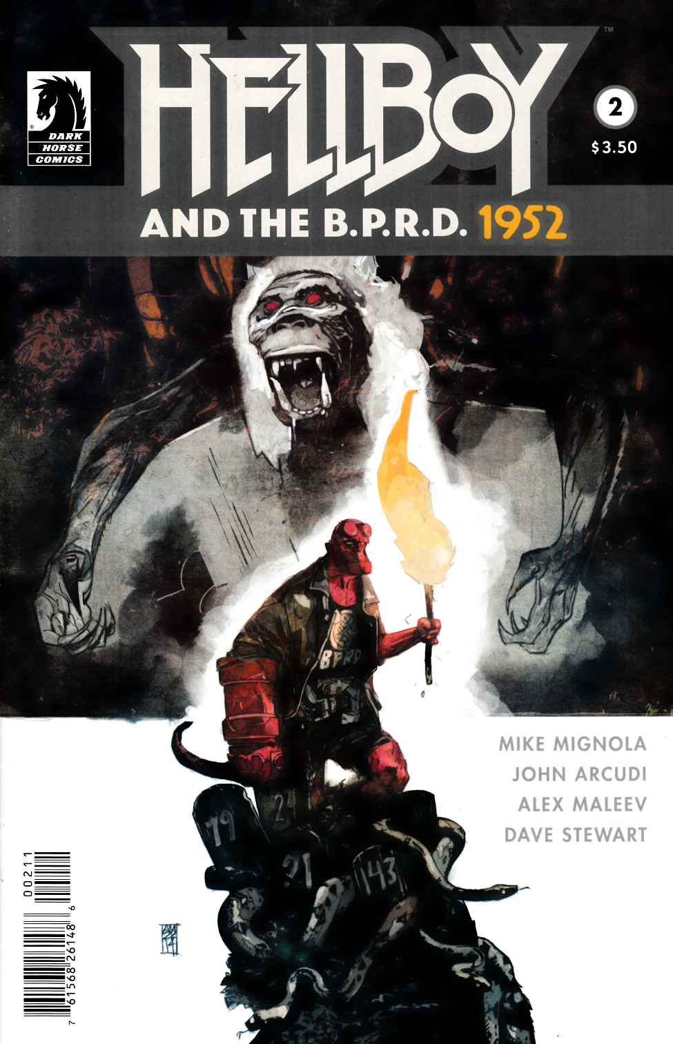 Hellboy and the BPRD #2 1952 [Dark Horse Comic]