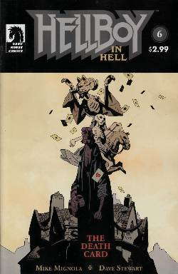Hellboy in Hell #6 Near Mint (9.4) [Dark Horse Comic] LARGE