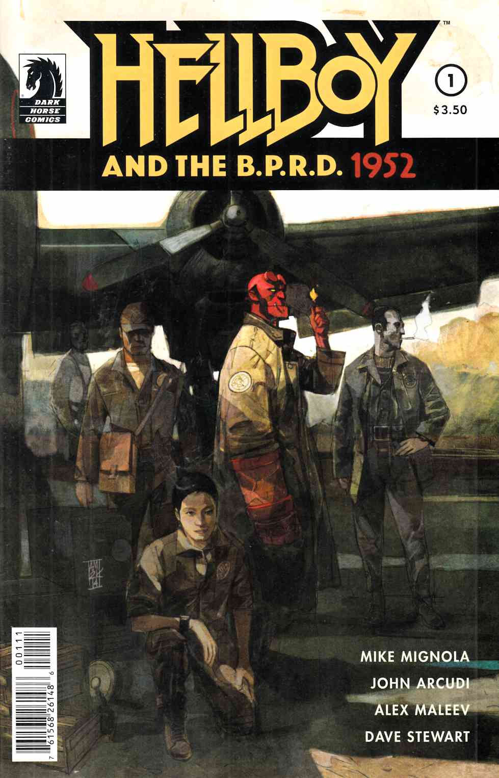 Hellboy and The BPRD #1 1952 [Dark Horse Comic] THUMBNAIL