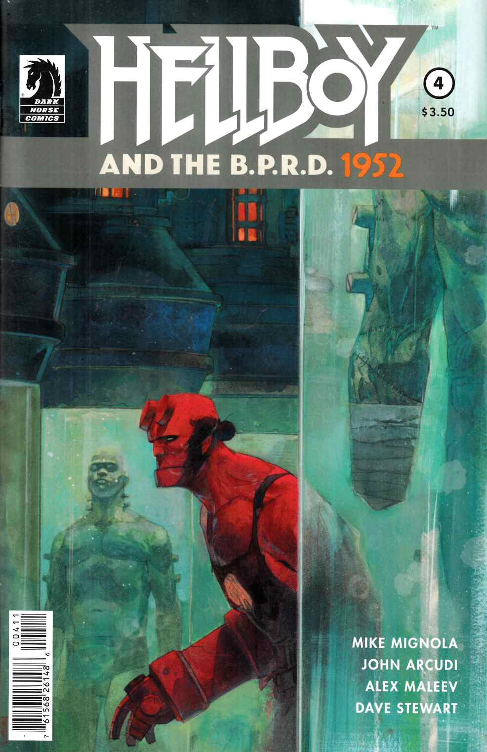 Hellboy And The BPRD #4 [Dark Horse Comic]