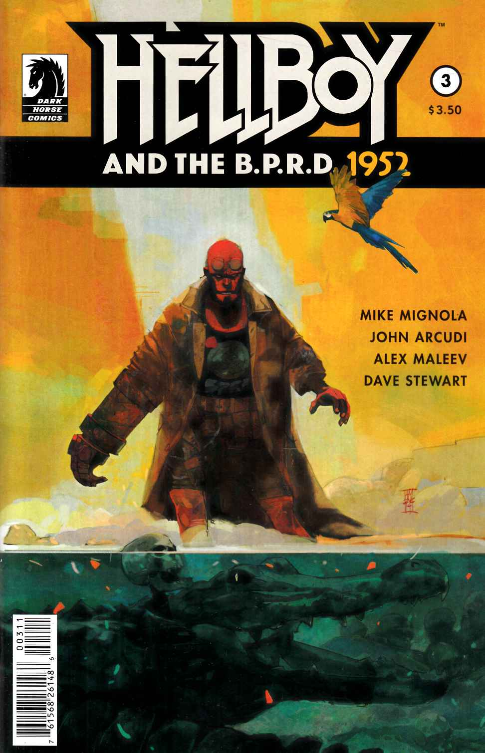 Hellboy and the BPRD #3 [Dark Horse Comic]