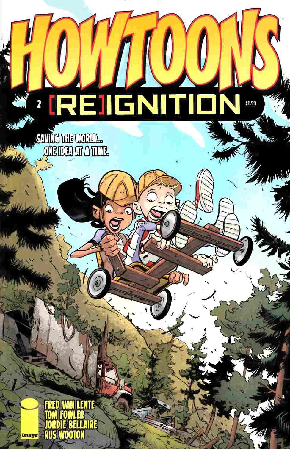 Howtoons Reignition #2 [Image Comic] LARGE