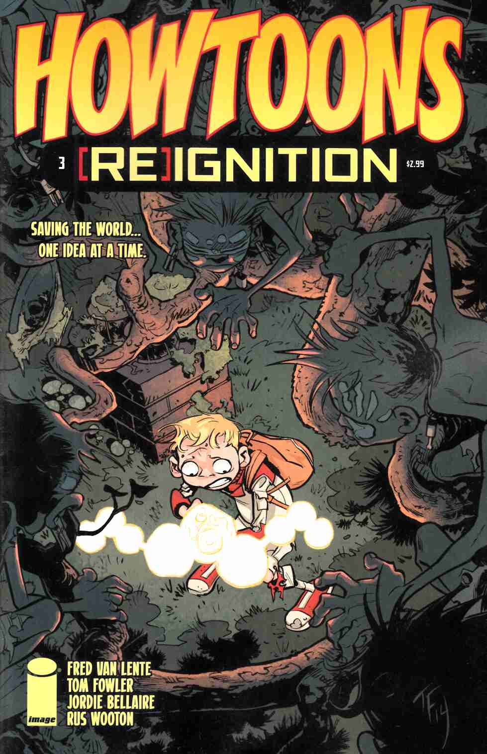 Howtoons Reignition #3 [Image Comic] LARGE