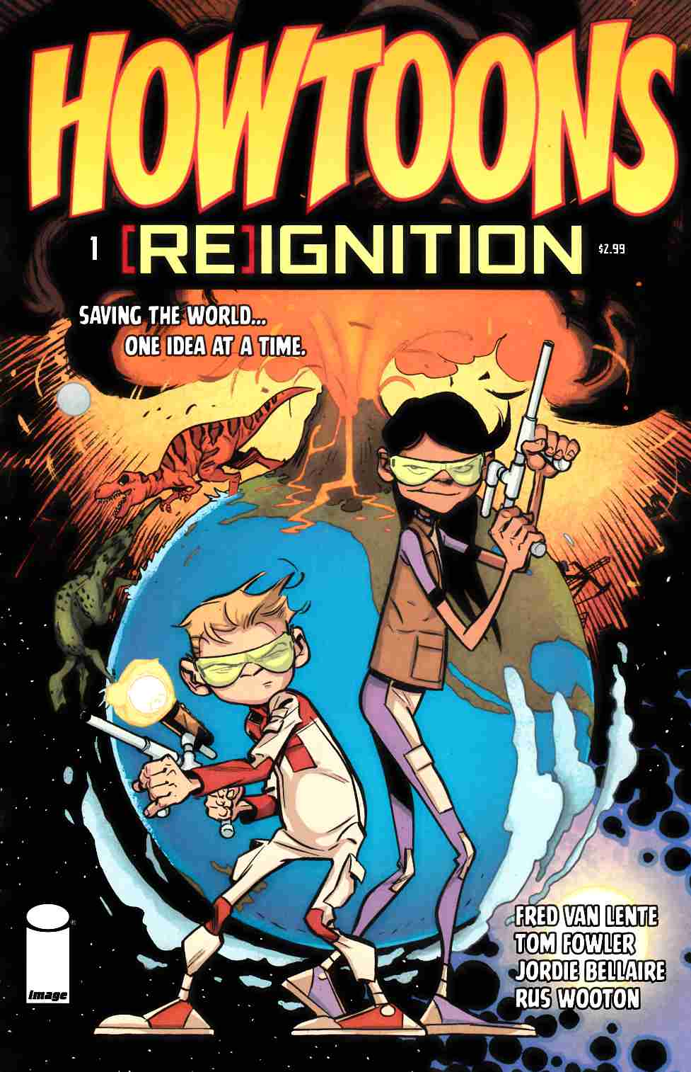 Howtoons Reignition #1 [Image Comic] LARGE