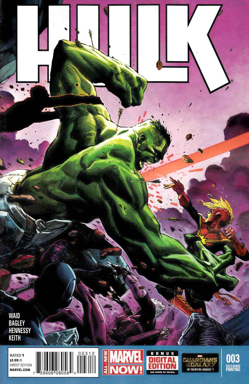 Hulk #3 Second Printing [Comic] THUMBNAIL