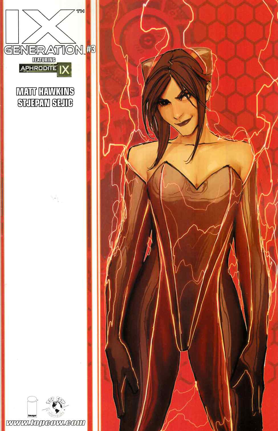 IXth Generation #3 Cover B- Sejic [Image Comic] THUMBNAIL
