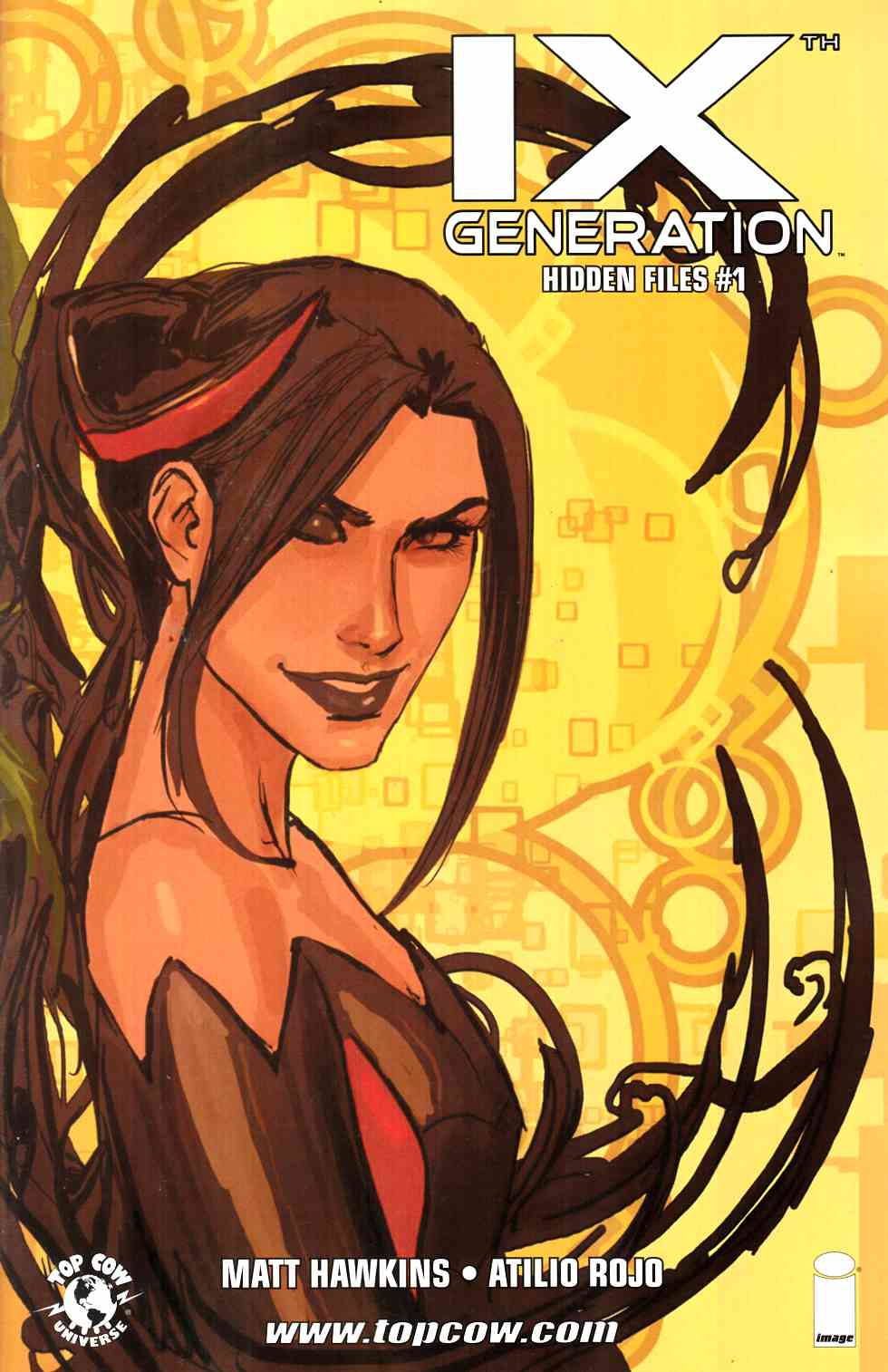 IXth Generation Hidden Files #1 Cover B- Sejic [Image Comic] THUMBNAIL