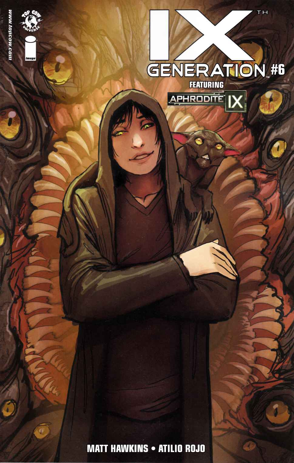 IXth Generation #6 Cover A- Sejic [Image Comic] THUMBNAIL