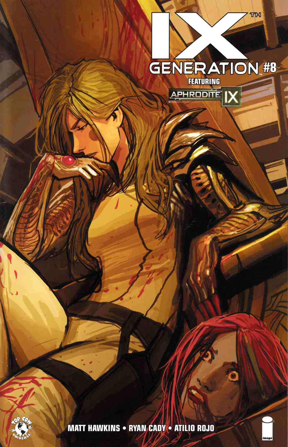 IXth Generation #8 Cover A- Sejic [Image Comic] THUMBNAIL