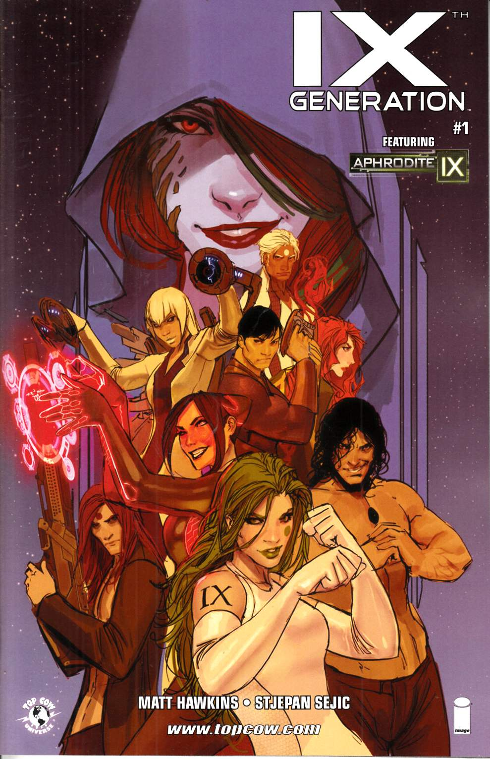 IXth Generation #1 Cover B- Sejic Incentive [Image Comic] THUMBNAIL