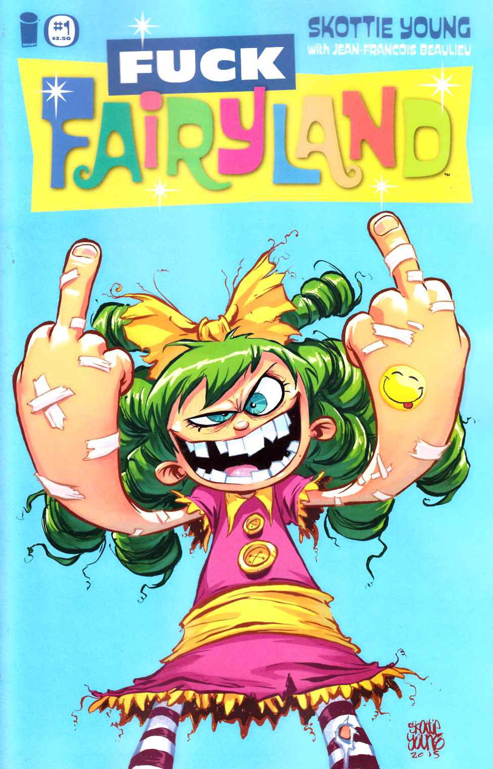 I Hate Fairyland #1 F*ck Fairyland Variant Cover [Image Comic] THUMBNAIL