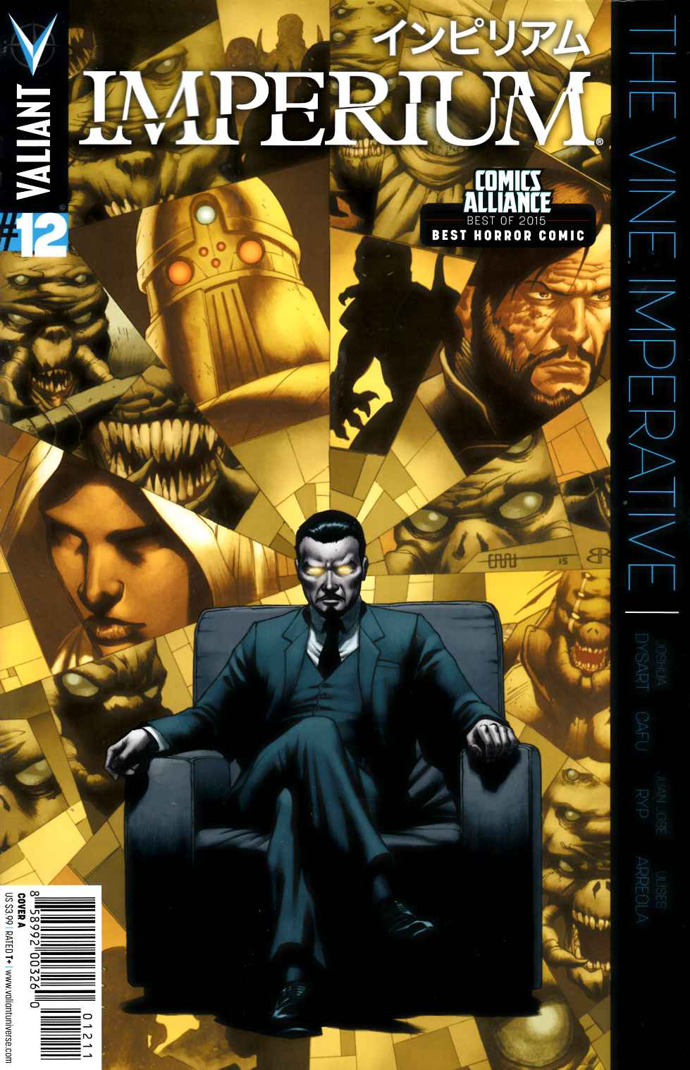 Imperium #12 Cover A- Cafu [Valiant Comic] THUMBNAIL