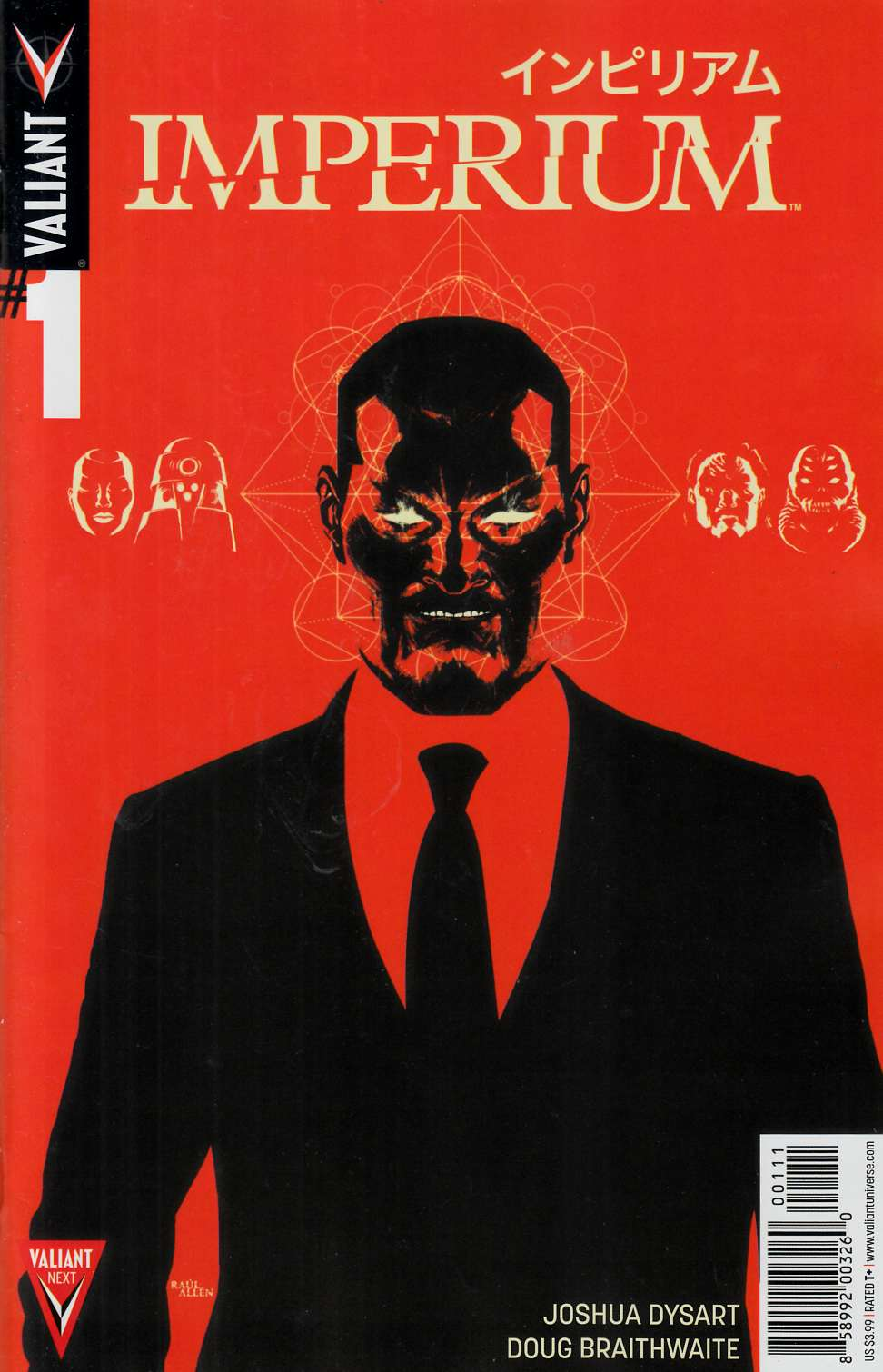 Imperium #1 Cover A- Allen [Valiant Comic] THUMBNAIL