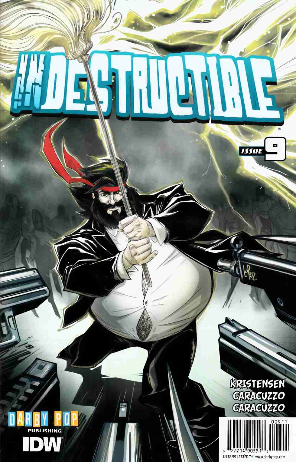 Indestructible #9 [IDW Comic] THUMBNAIL