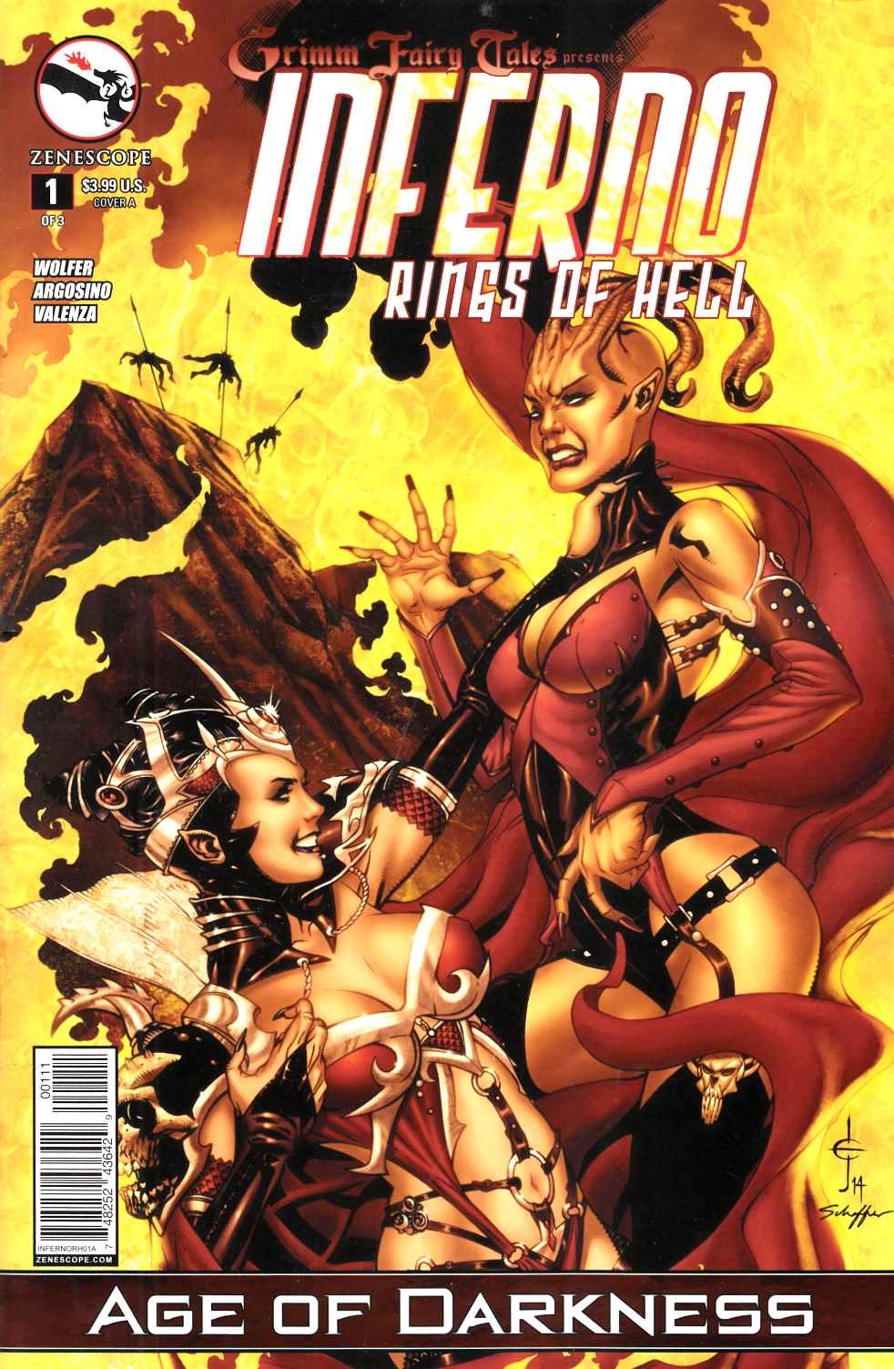 Inferno Rings of Hell #1 Cover A- Johnson [Comic] LARGE