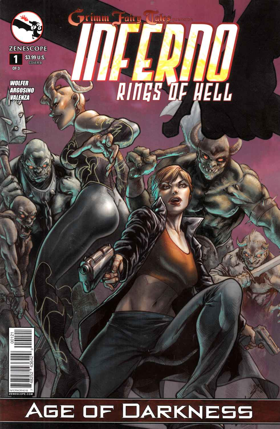 Inferno Rings of Hell #1 Cover B- Laiso [Zenescope Comic] LARGE