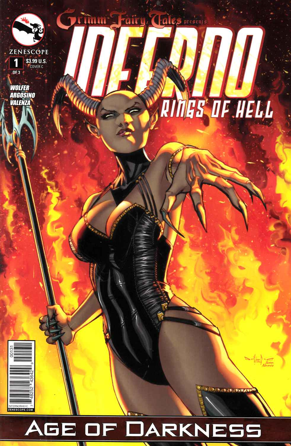 Inferno Rings of Hell #1 Cover C- Qualano [Zenescope Comic] LARGE