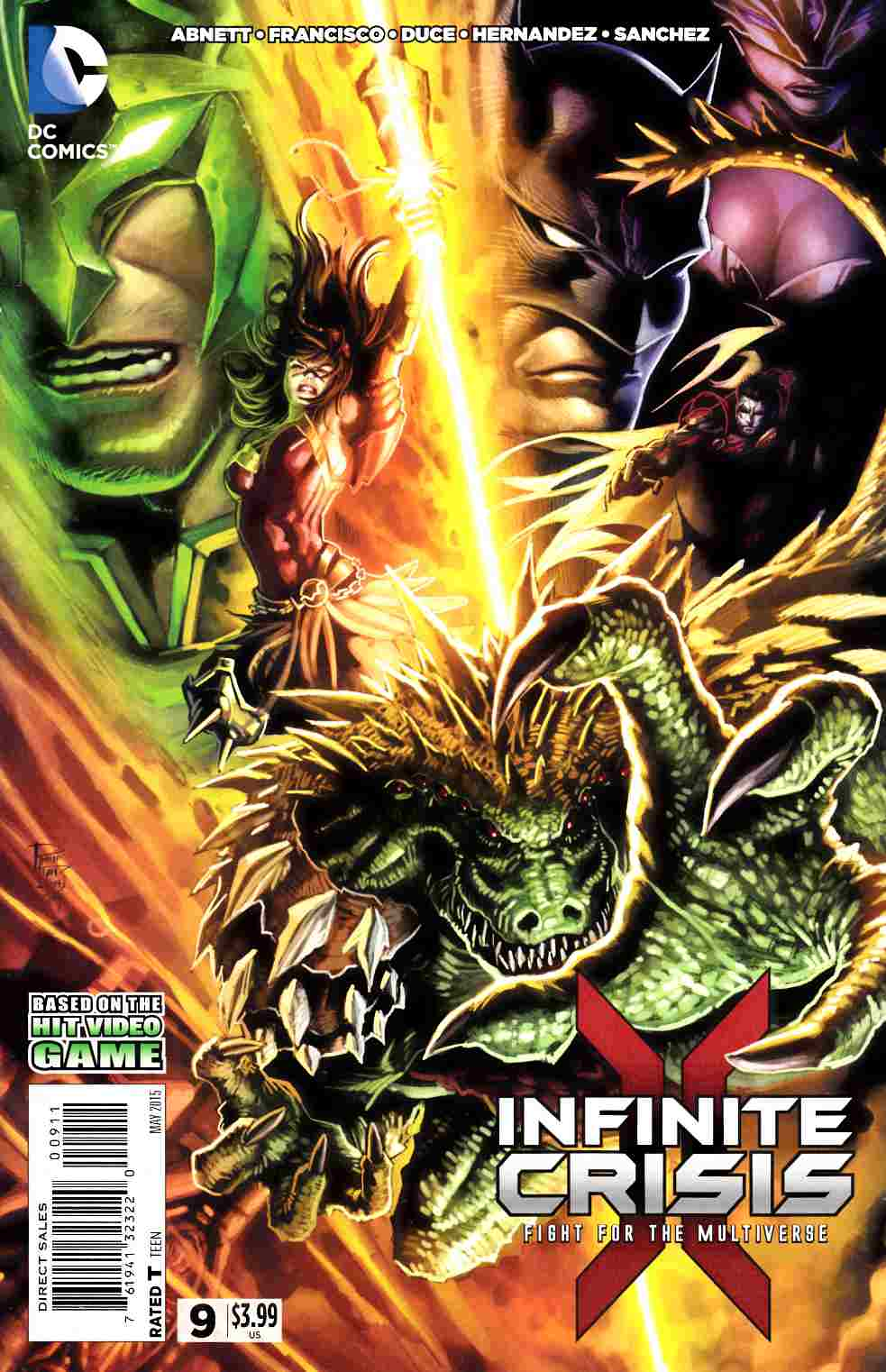 Infinite Crisis Fight For the Multiverse #9 [DC Comic]_THUMBNAIL