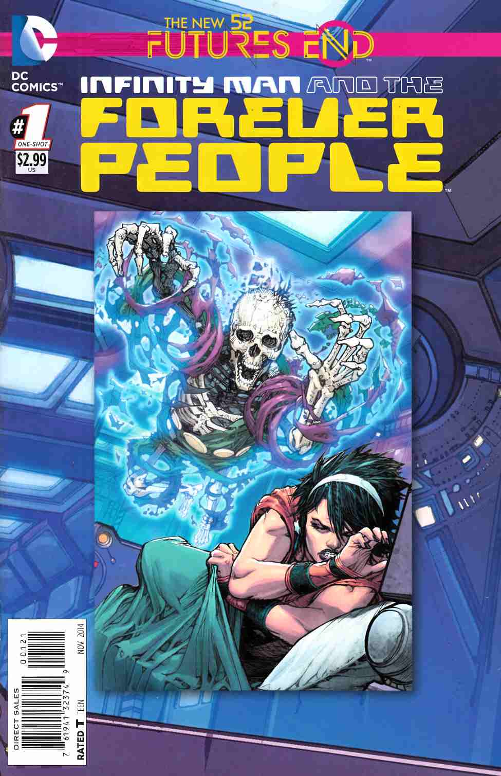 Infinity Man and the Forever People Futures End #1 Standard Edition [DC Comic]_THUMBNAIL