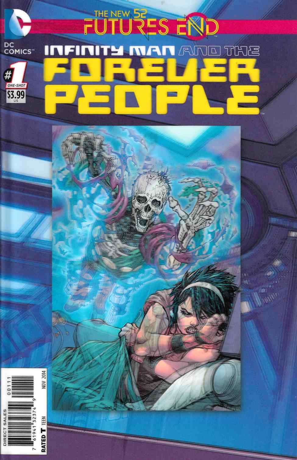 Infinity Man and the Forever People Futures End #1 3D Edition [DC Comic]_THUMBNAIL