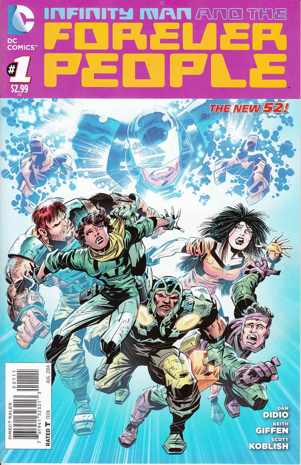 Infinity Man and the Forever People #1 [DC Comic]_THUMBNAIL