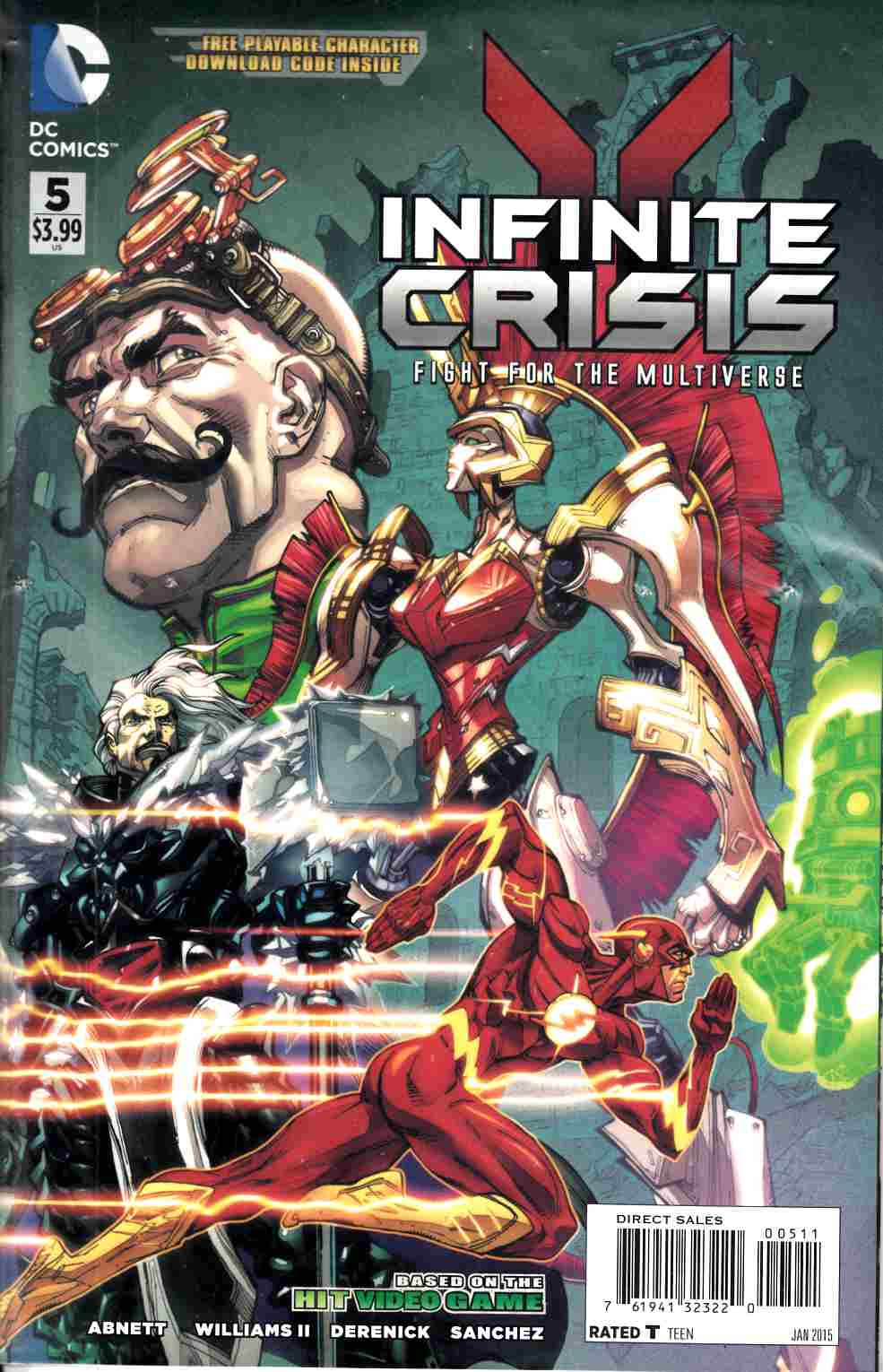 Infinite Crisis Fight For The Multiverse #5 [DC Comic]_THUMBNAIL