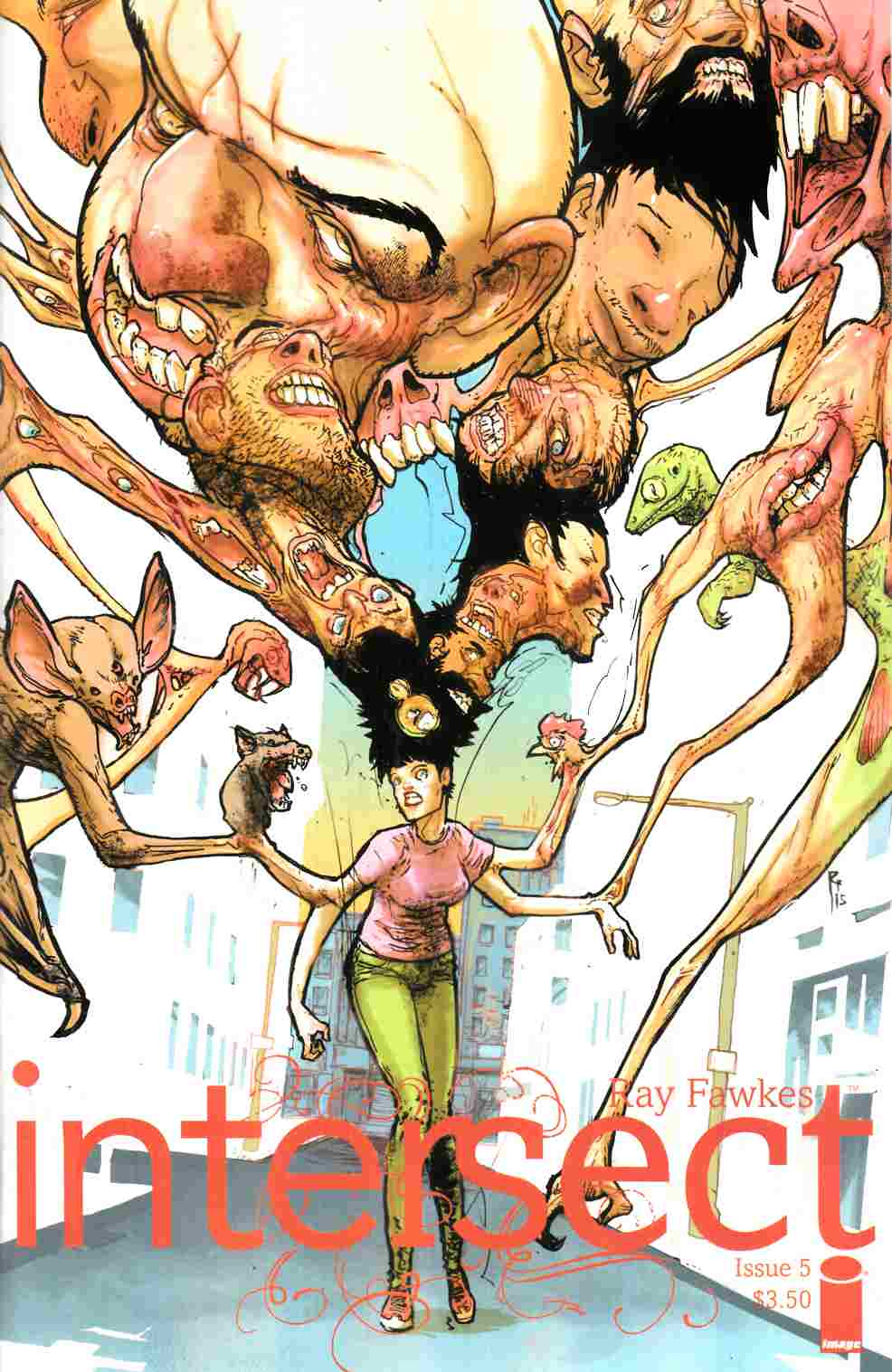 Intersect #5 Cover B- Rossmo [Image Comic]