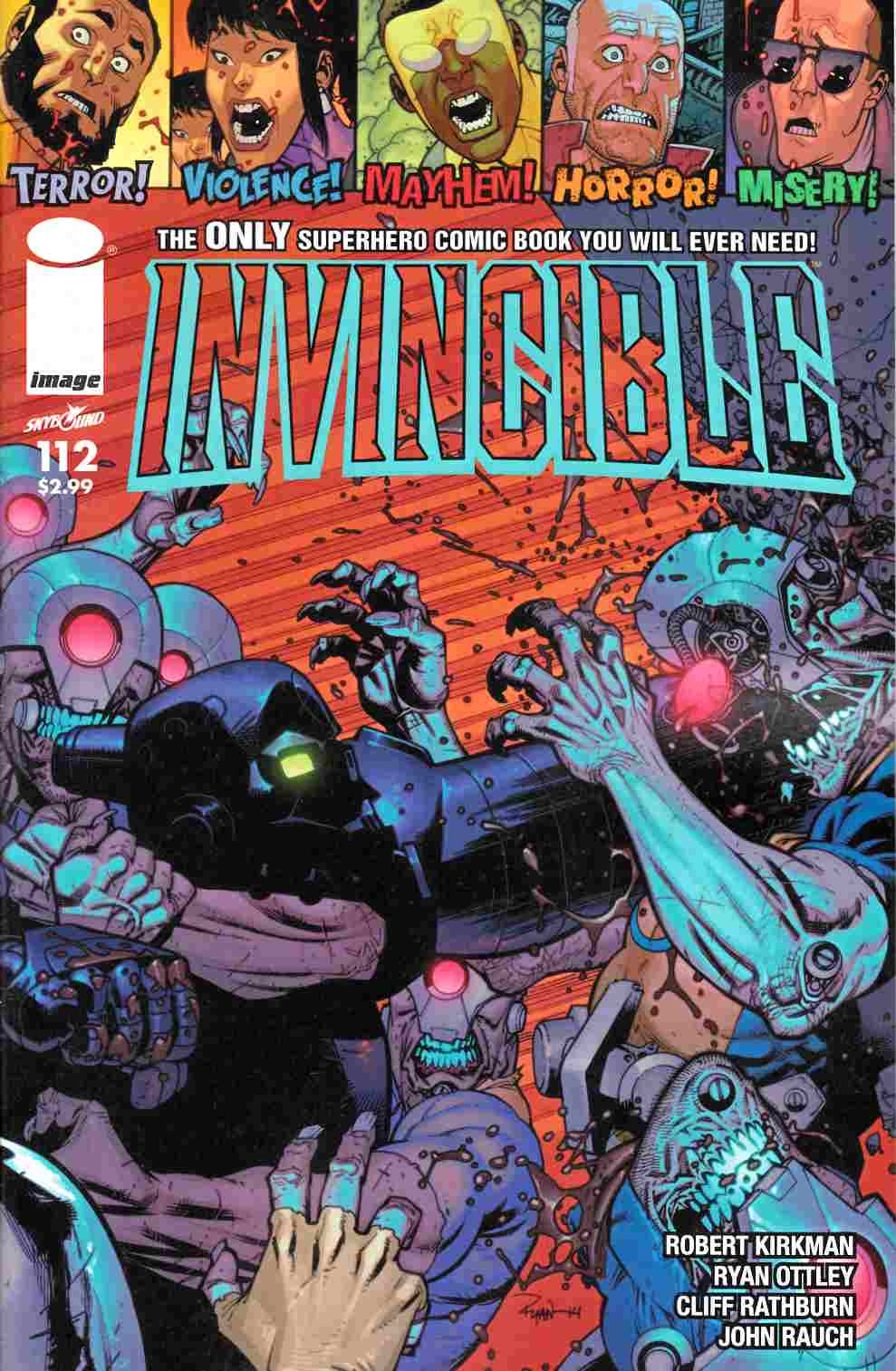 Invincible #112 Near Mint (9.4) [Image Comic] LARGE
