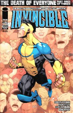 Invincible #100 Cover J- Second Printing [Comic]