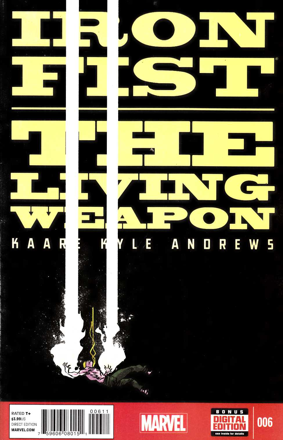 Iron Fist Living Weapon #6 [Marvel Comic] THUMBNAIL