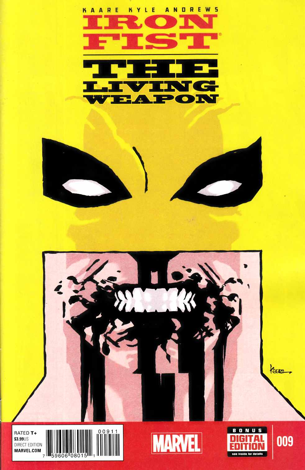 Iron Fist Living Weapon #9 [Marvel Comic] THUMBNAIL