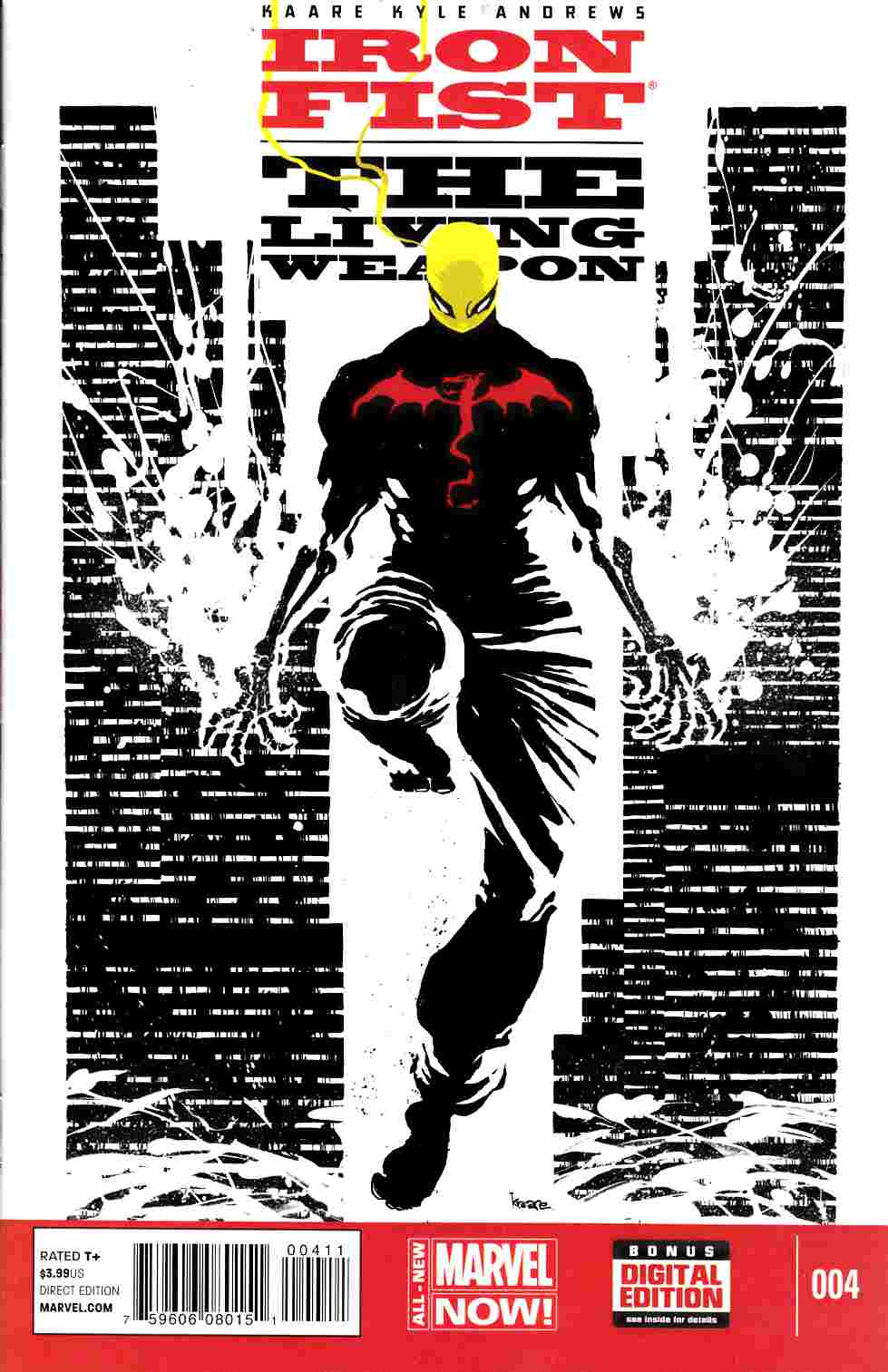 Iron Fist Living Weapon #4 [Marvel Comic] THUMBNAIL