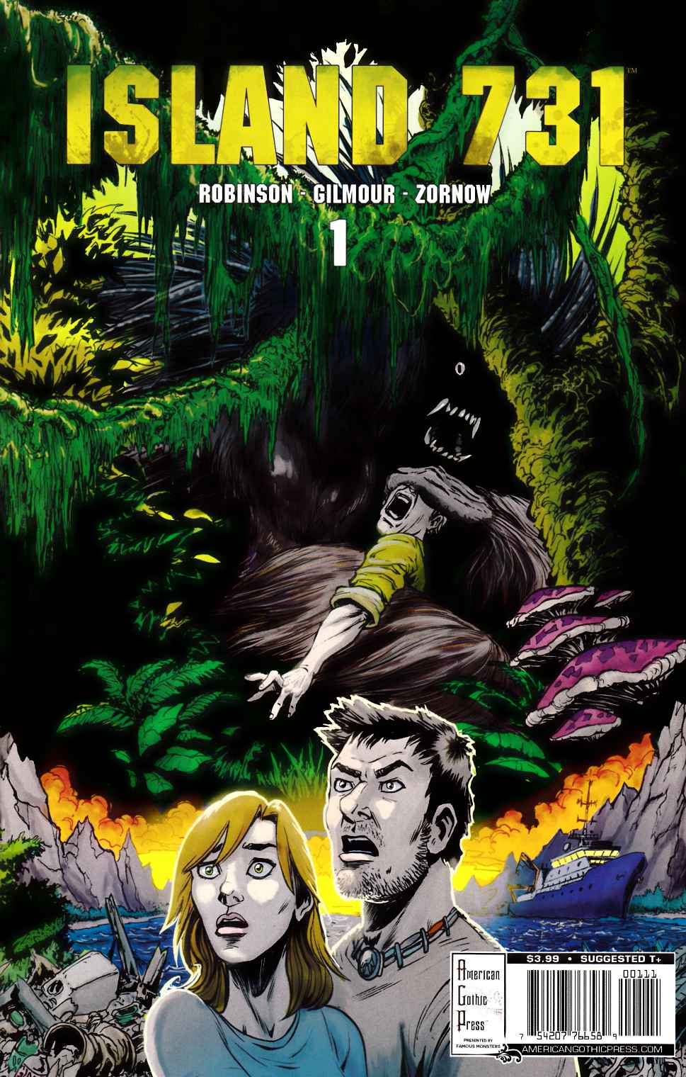 Island 731 #1 [American Gothic Comic] LARGE