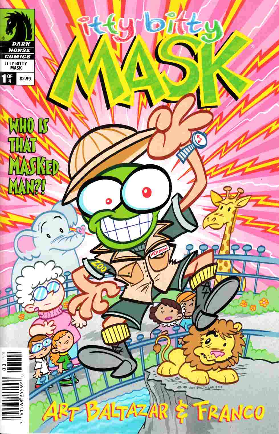 Itty Bitty Comics the Mask #1 [Dark Horse Comic] THUMBNAIL
