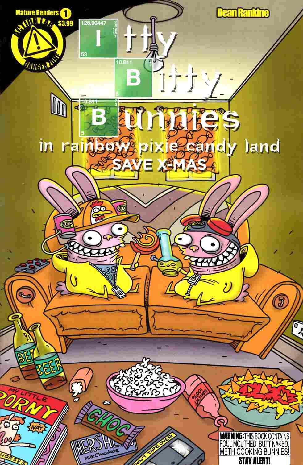 Itty Bitty Bunnies Rainbow Pixie Land Xmas #1 [Comic] THUMBNAIL